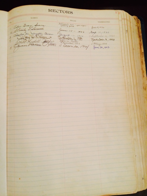 Parish Register 1