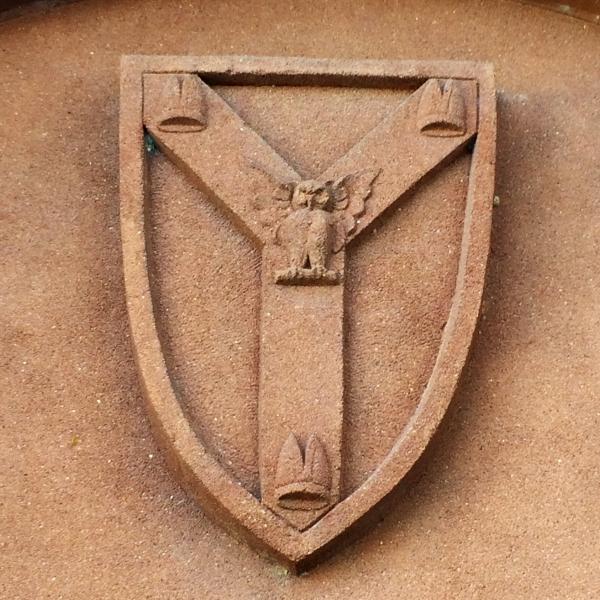 Palmer's North Side Door Crest