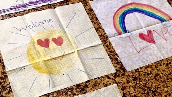 Decorated Quilt Squares